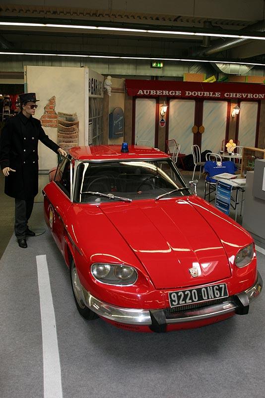 Citröen Panhard CT 24, Baujahr 1966, 2-Zyl.-Boxer, erstes Auto mit Memory-Sitz