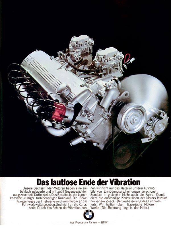 """Werbemotiv """"Das lautlose Ende der Vibration"""", 1970"""