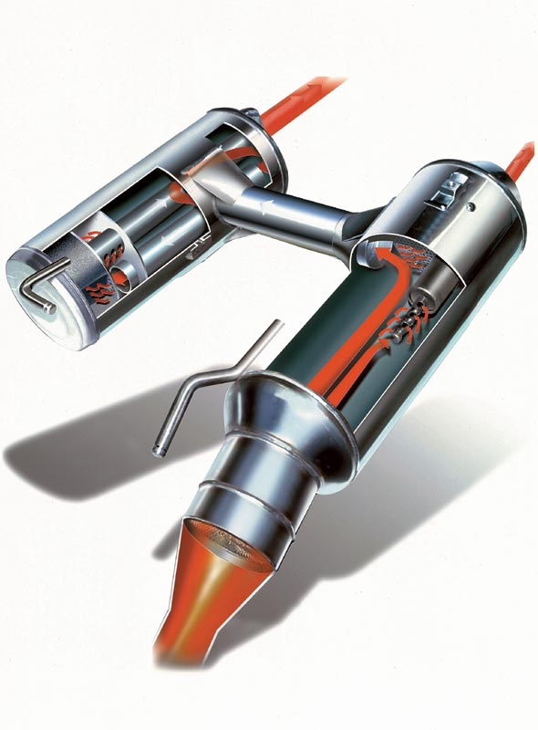 Geregelter Dreiwege-Katalysator in der F 650 GS, 1999
