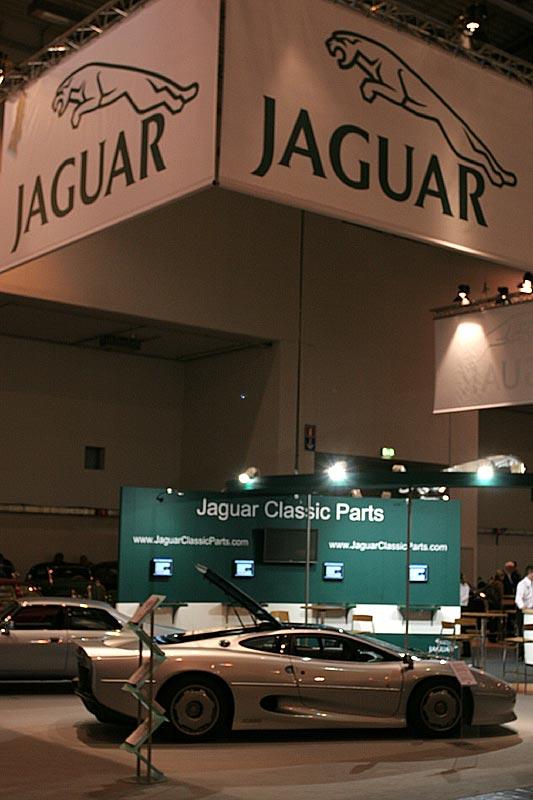 Jaguar Messestand, Techno Classica 2007 in Essen