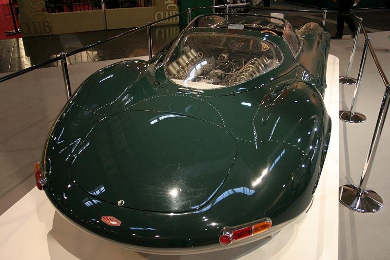 Jaguar XJ 13, wurde als Anwärter für Le Mans gebaut, nach schweren Unfall wieder restauriert
