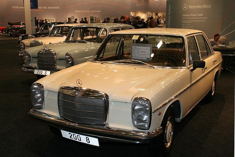Mercedes 200/8 (W122), gebraucht angeboten für 7.900,- Euro vom Classic Partner Autohaus Weicker