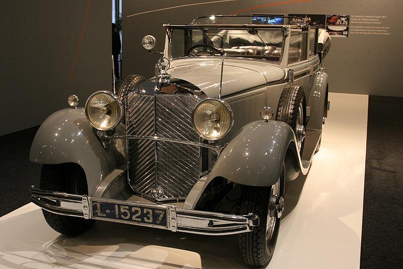 """Mercedes Benz Typ 770, Cabriolet F, der """"große Mercedes"""" wurde u. a. von Kaier Wilhelm genutzt"""