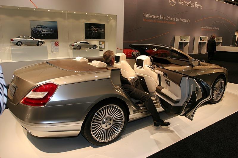 Concept Ocean Drive, 4türiges Cabrio auf S-Klasse-Basis, Techno Classica 2007