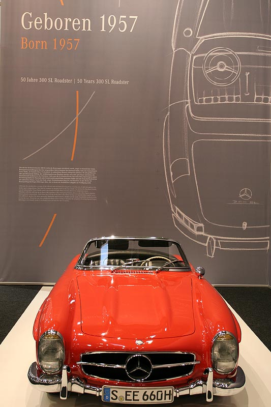 Mercedes SL, geboren in 1957, Techno Classica Essen 2007