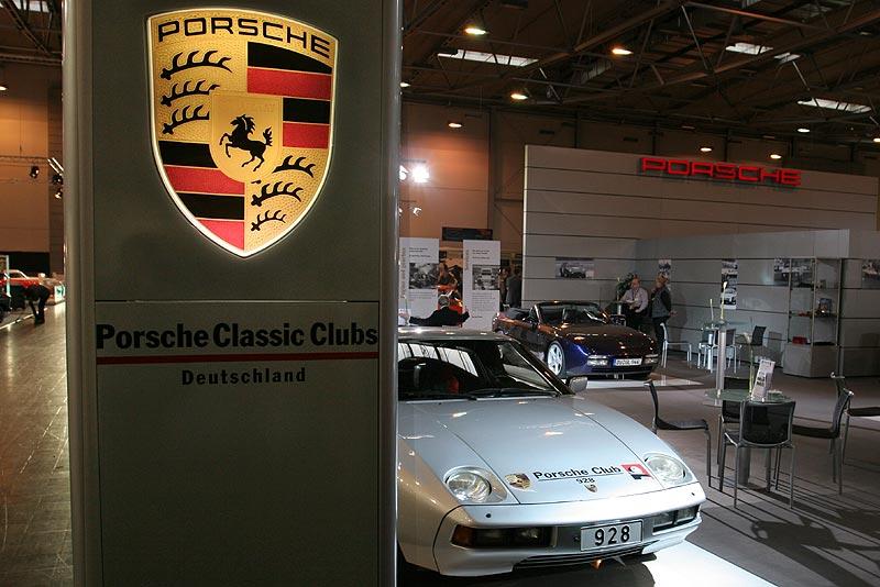 Porsche 928 Club auf dem Porsche Stand, Techno Classica 2007 in Essen