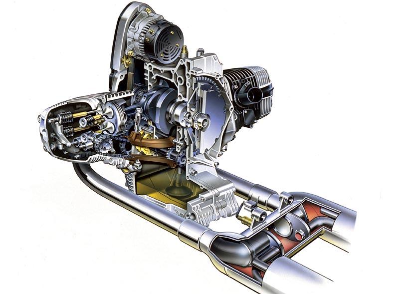 BMW R 1200 C Motor mit Kat, 1997