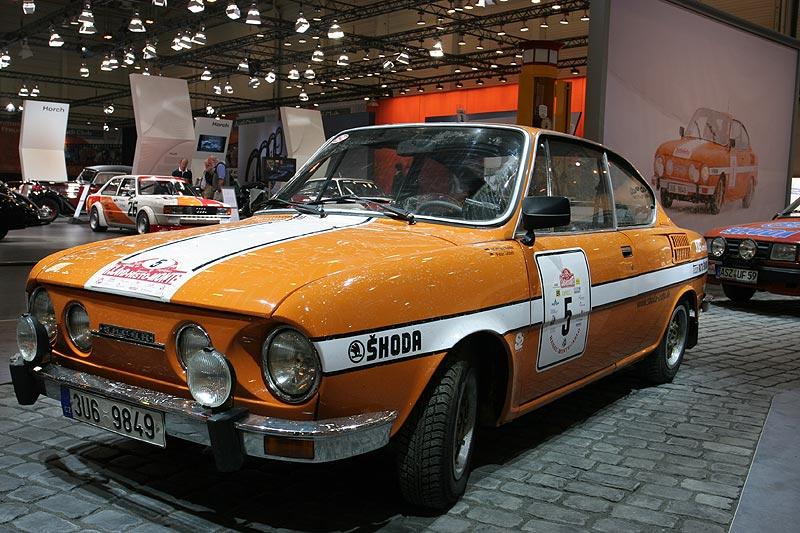 Skoda 110 R, Bauzeit: 1970 bis 1980, 4 Zyl.-Motor, 1.179 cccm, 90 PS, 170 km/h, 56.902 Stück