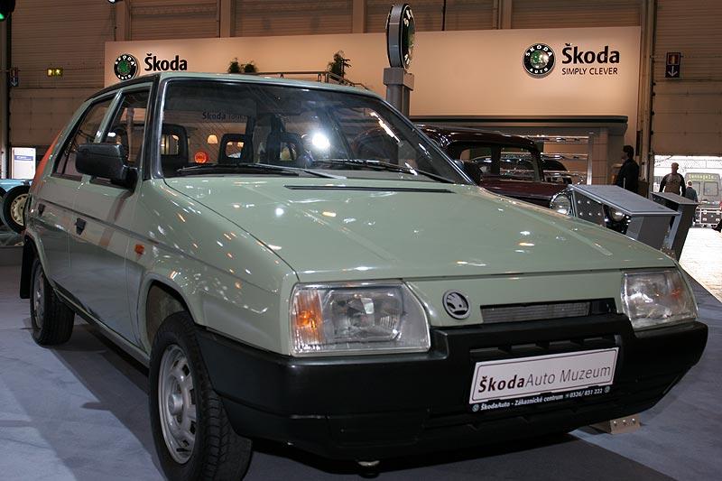Skoda Favorit 136 L, Bauzeit: 1987 bis 1994, 4 Zyl.-Motor, 1.289 cccm, 55 PS, 150 km/h, 783.167 Stück