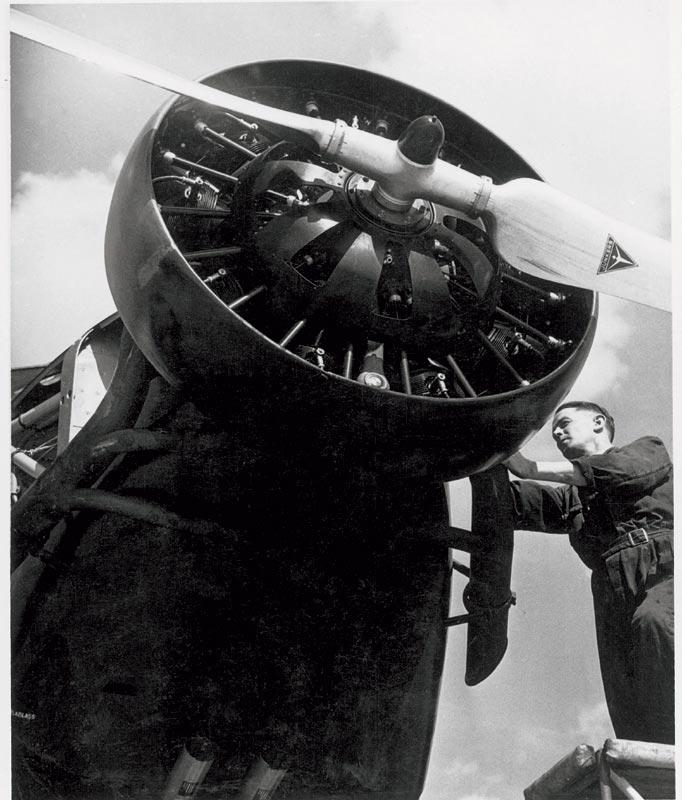 Sternmotor BMW 132 einer Junkers Ju 52