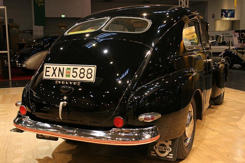 Volvo PV444 1947, Radstand: 2.600 mm, Gewicht: 1.000 kg, Stückzahl: 196.004