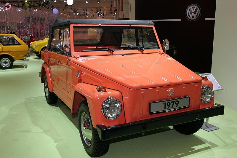 1979: VW 181 Nr. 70.346, luftgekühlter 4 Zyl.-Motor, 1.584 cccm, 45 PS, 900 kg