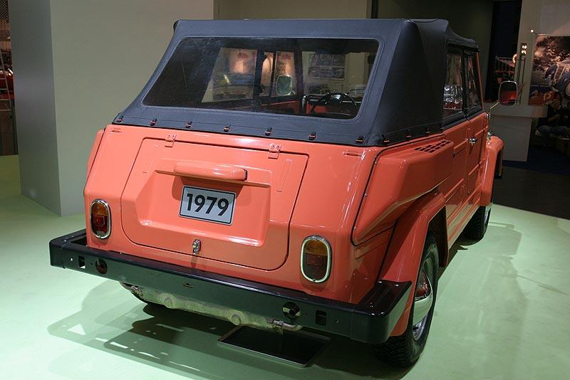 1979: VW 181 Nr. 70.346, Mehrzweckwagen mit aushängbaren Türen, klappbare Frontscheibe