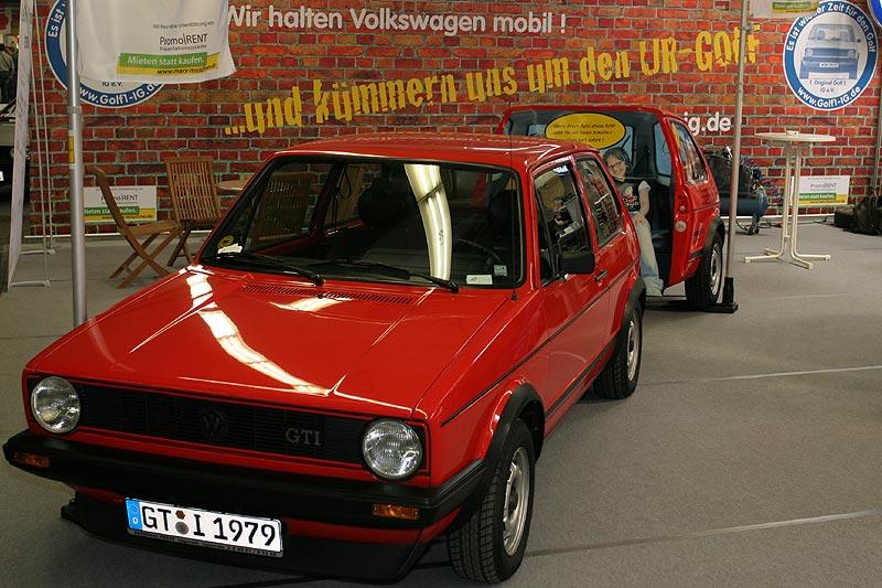 Stand der VW Golf I IG
