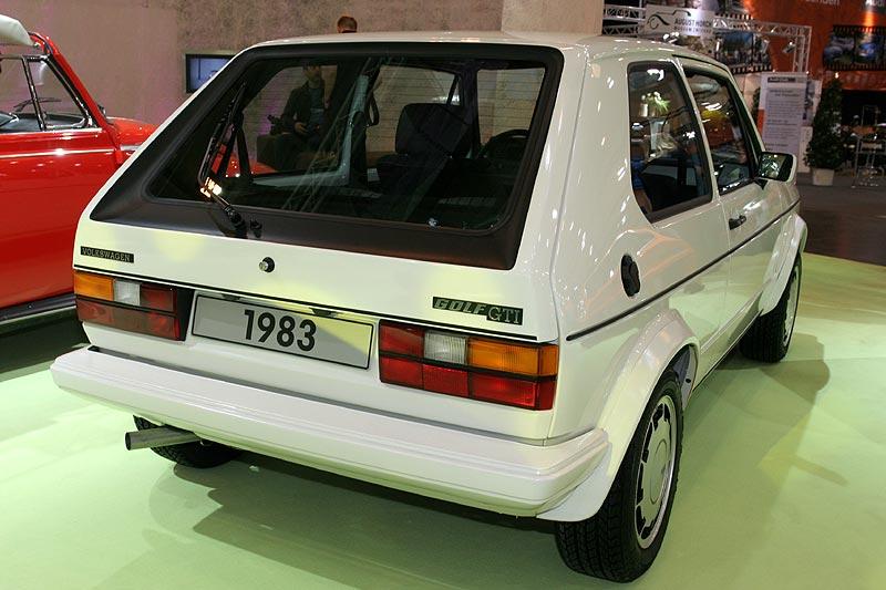 VW Golf GTI, auf der IAA 1975 vorgestellt, Facelift 1978, 183 km/h, Neupreis: 20.285 DM (1983)