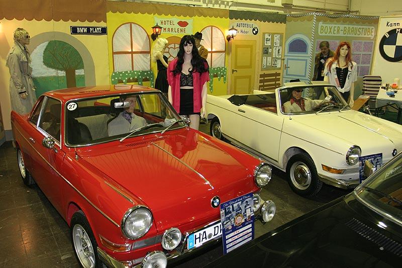 BMW 700 Coupé aus dem Jahr 1961 (vorne)