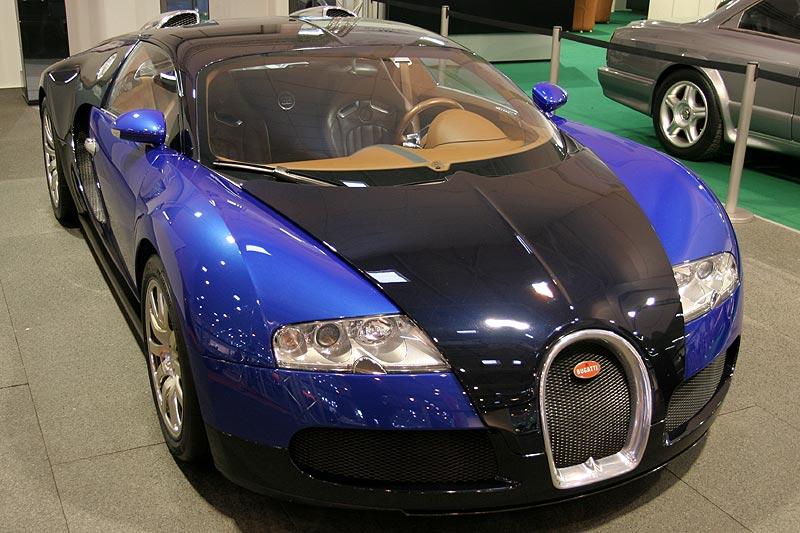 Bugatti Veyron, mit W16-Motor, 400 km/h schnell