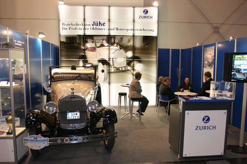 Oldtimer-Versicherungen bot die Firma Zurich an