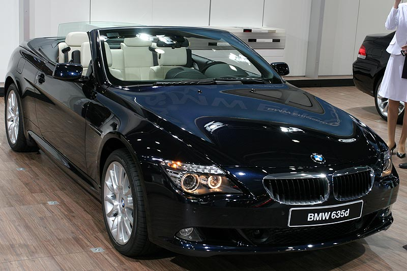 2007 bmw 635d cabrio e64 related infomation specifications weili automotive network. Black Bedroom Furniture Sets. Home Design Ideas
