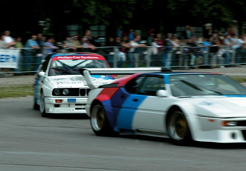 BMW M1 und BMW M3 auf dem Bavariaring