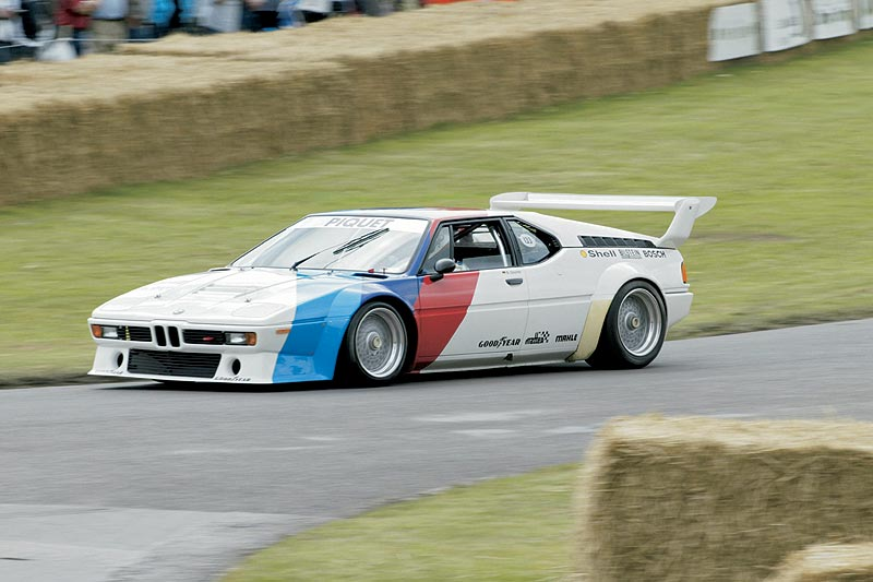 Goodwood Festival of Speed 2004 - BMW M1 Procar - Prof. Burkhard Göschel