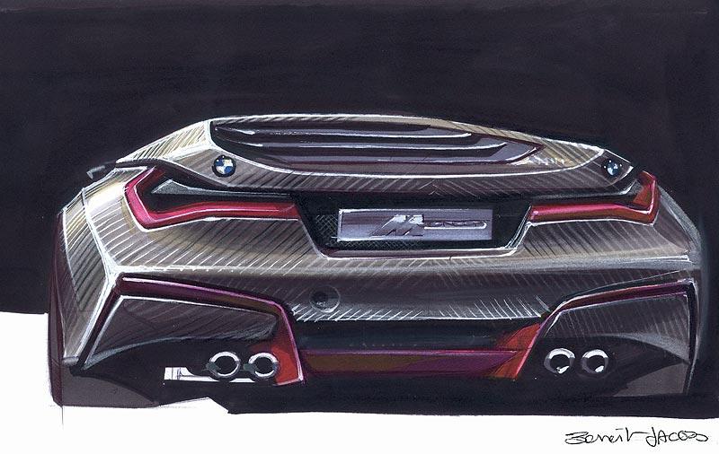 BMW M1 Hommage, Designskizze