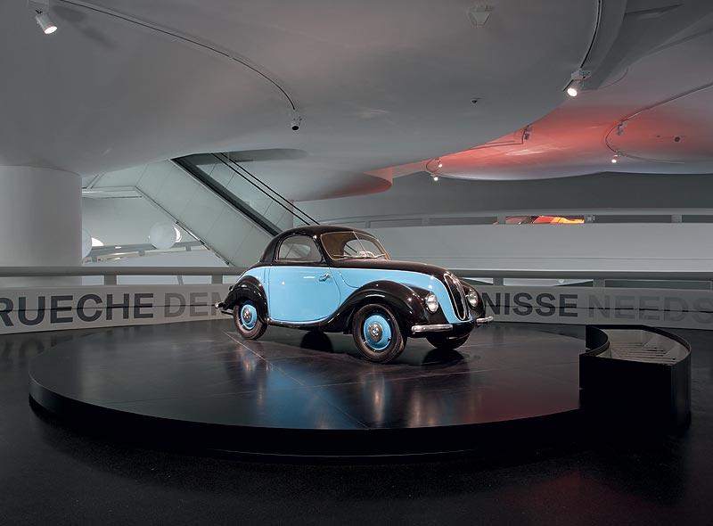 """BMW 531 in der Wechselausstellung """"Concept Cars"""" im BMW Museum München"""