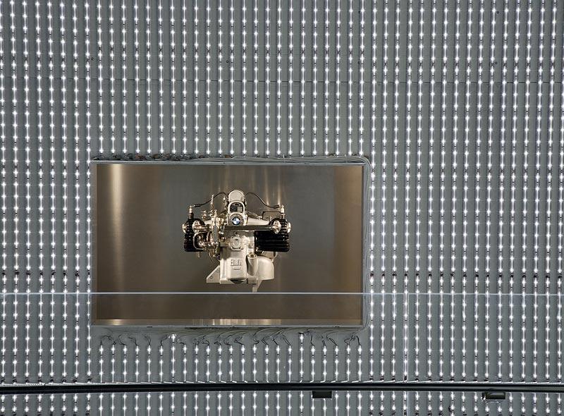 Motor BMW M2B2 im BMW Museum München