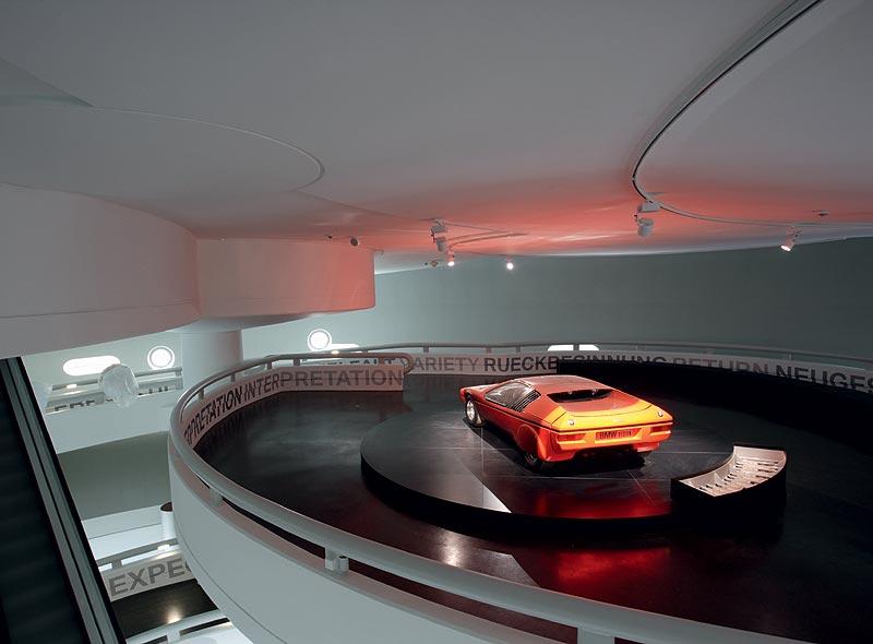 """BMW Turbo in der Wechselausstellung """"Concept Cars"""" im BMW Museum München"""