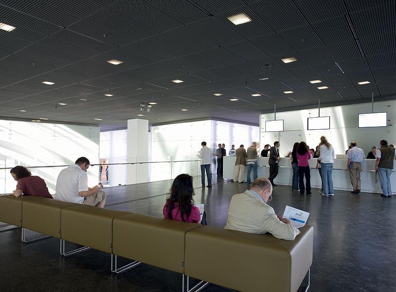 Empfangsbereich im BMW Museum München