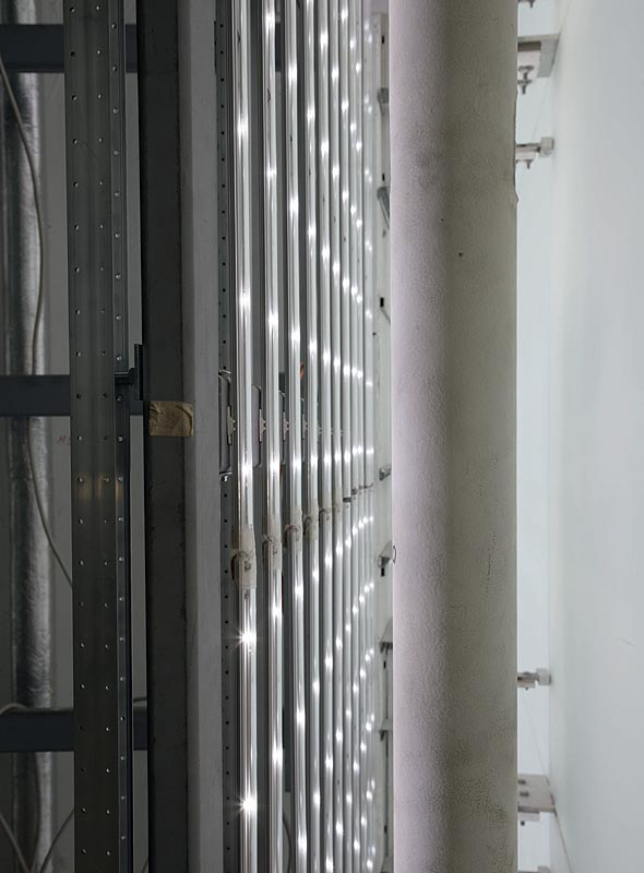LED Wand im BMW Museum München