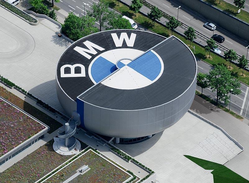 BMW Museum München, Luftaufnahme