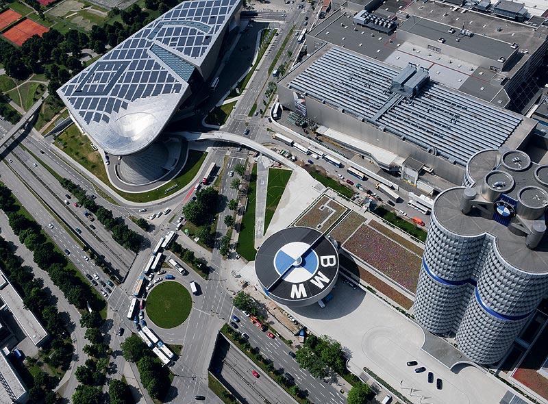 BMW Werk, BMW Welt und BMW Museum München