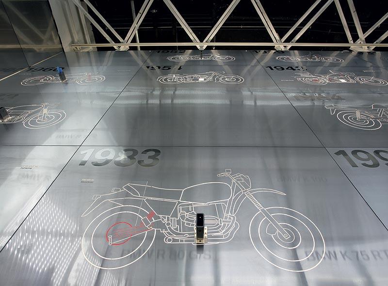 BMW Museum - Haus des Motorrads vor der Einbringung der Exponate