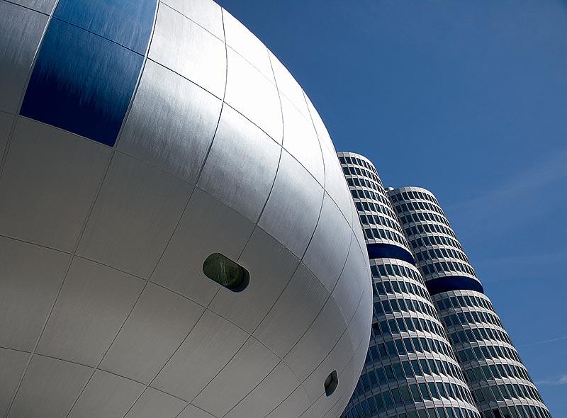 BMW Museum und Hochhaus, München