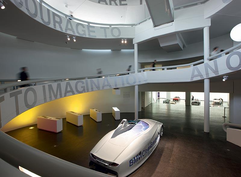 """Ausstellungsraum """"Visionen"""" im BMW Museum München"""