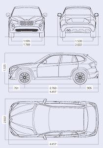 BMW X1 ABMESSUNGEN PDF