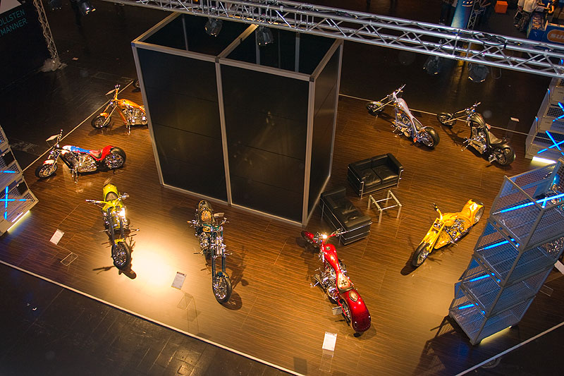 Edel-Bikes im Showground