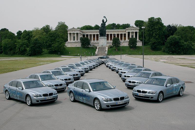 BMW Hydrogen 7 Korso in München
