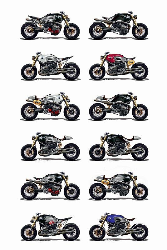 BMW Konzeptstudie Lo Rider