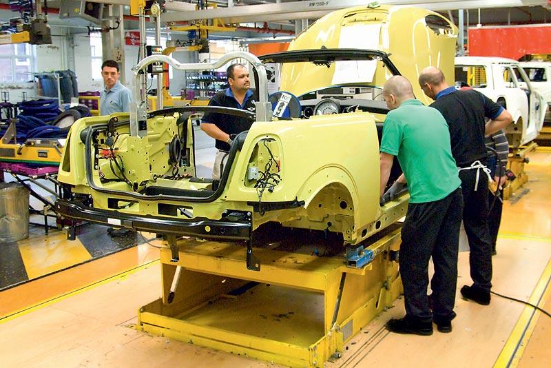 MINI Cooper Cabrio, Produktion