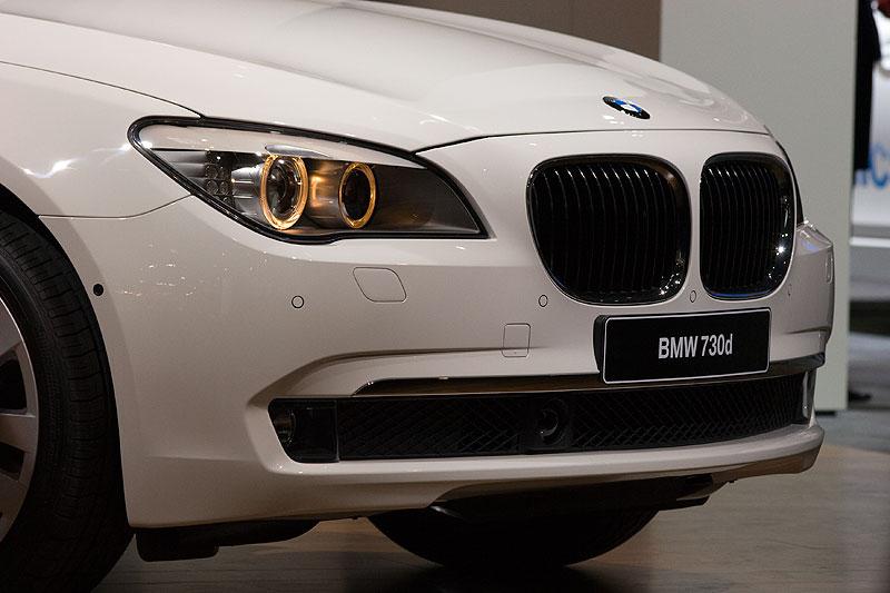 Weltpremiere in Paris: der BMW 730d, Modell F01