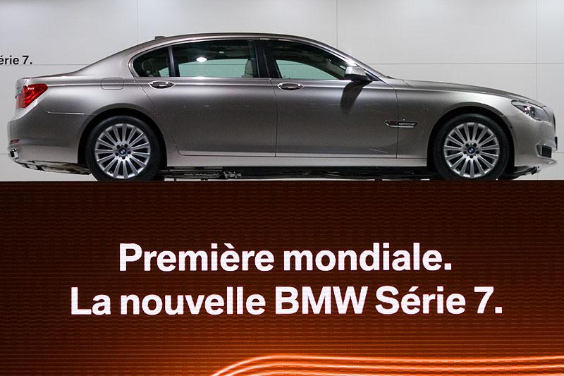Weltpremiere der neuen BMW 7er-Reihe auf dem Pariser Autosalon