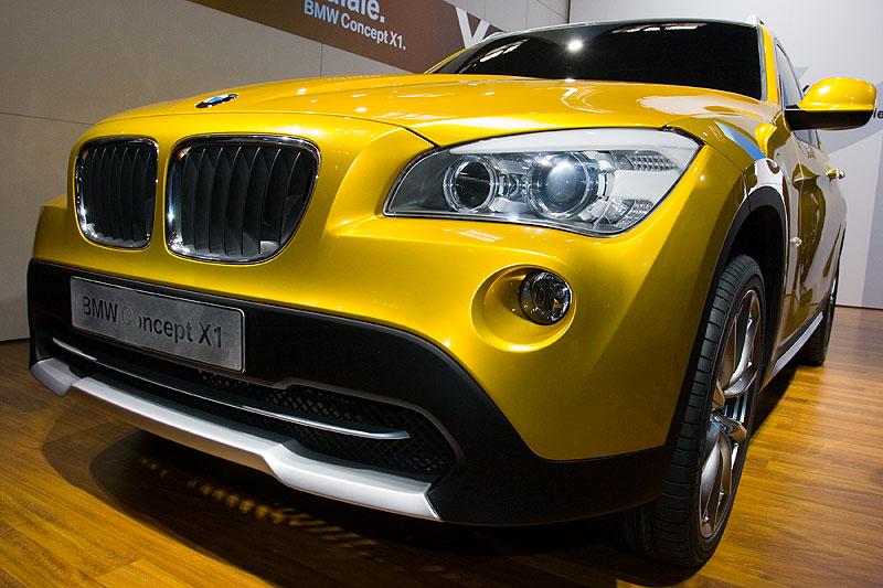 Weltpremiere in Paris: das BMW Concept X1