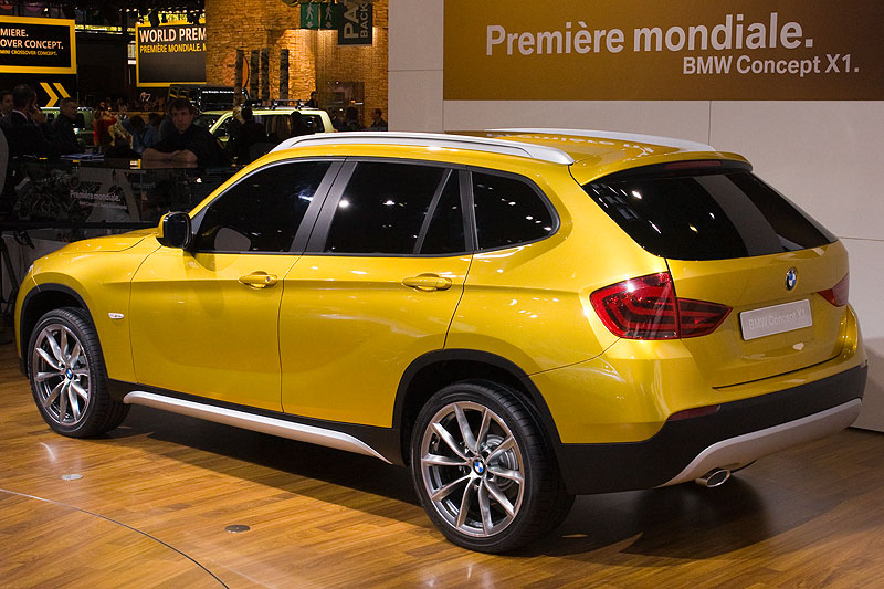 Weltpremiere in Paris: das BMW Concept X1