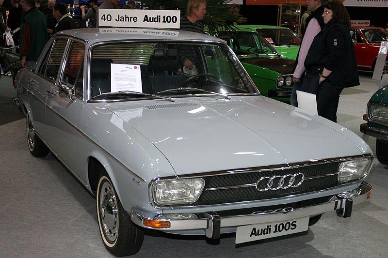 Audi 100 S auf der Techno Classica 2008