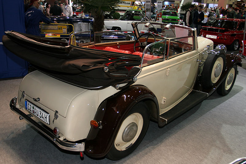 Audi Front UW 225, Bauzeit: 1933-1934, Hersteller: Auto Union Audi, 6-Zyl.-Reihenmotor, 40 PS