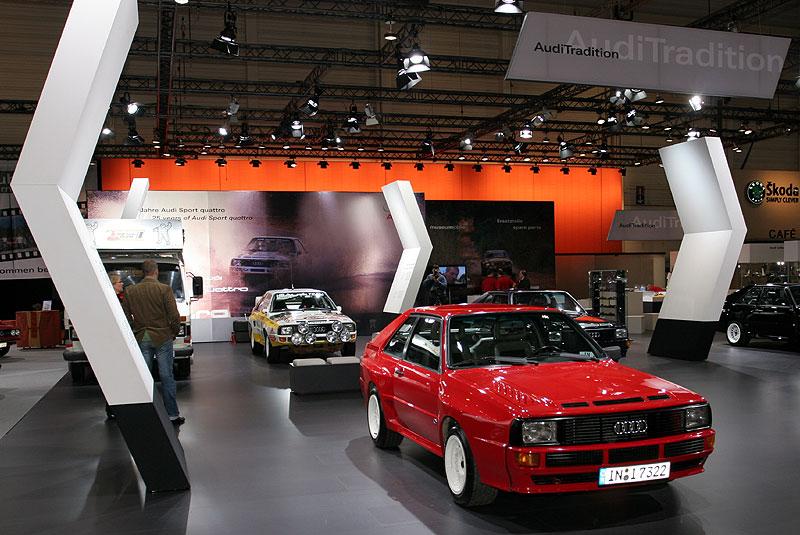 Audi Sport Quattro, Baujahr 1983, 5-Zylinder-Reihenmotor, 306 PS, vmax: 250 km/h, Preis: 208.850 DM