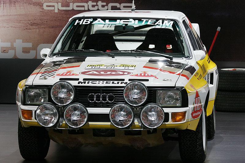 Audi Sport quattro (Rallyeversion), Baujahr 1984, 420 PS, 0-100 km/h in 3.8 Sek.