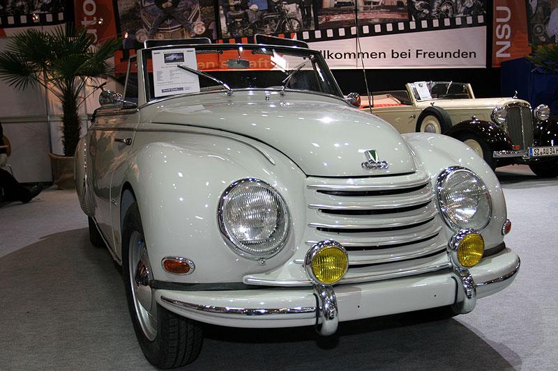 DKW F 91 Sonderklasse, Bj. 1954, 2 Sitzer Cabriolet, 3-Zylinder-2-Takt-Motor, 896 cccm, 34 PS